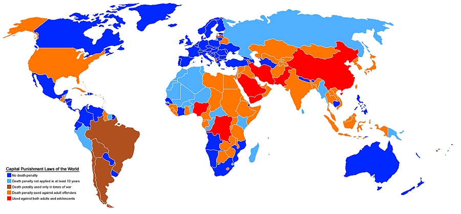 Human Rights Maps (21): Death