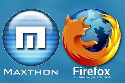 Maxthon-Firefox