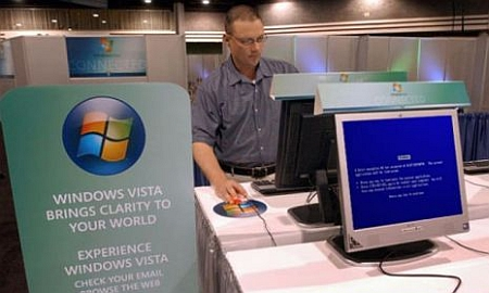 Windows Vista crash